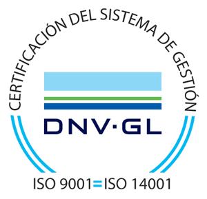 Certificación del sistema de Gestión DNV-GL. ISO 9001 ISO 14001